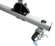 Dynamic Rack Caster Wheel Kit. Convert your storage rack to a rolling storage rack! Contains 4 wheels.