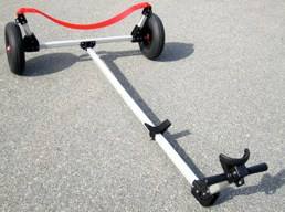 A Dynamic Launching Dolly can be made to fit any small boat
