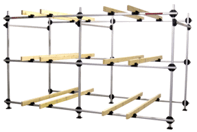 Boat Rack for 6 Inflatable Boats