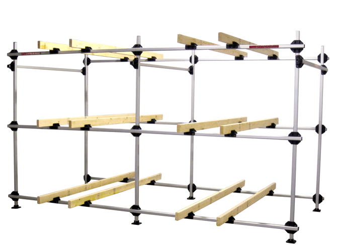 Boat Rack For 6 Inflatable Boats Storage ...
