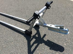 Double Tongue Trailer Hitch Adapter Coupler