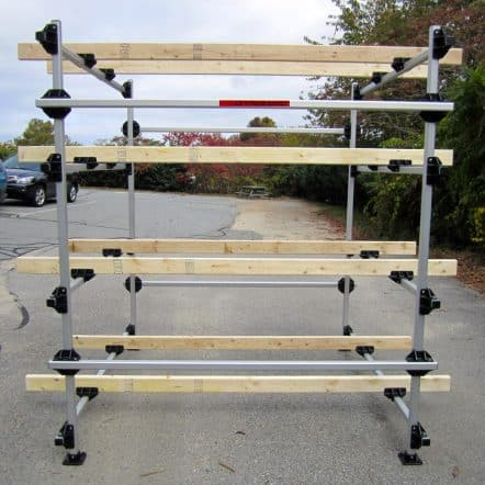 4 Boat Storage Rack