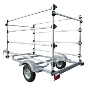 8 Boat Opti Trailer Rack